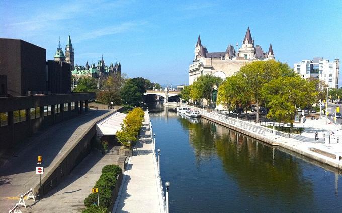 Điểm du lịch ở Ottawa, Canada thu hút nhiều du khách