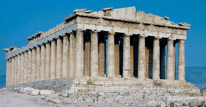 Kết quả hình ảnh cho Đền Parthenon
