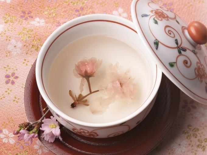 trà hoa Anh Đào