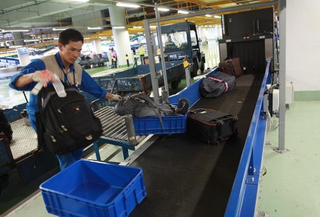 băng chuyền hành lý