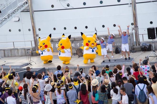 lễ hội Pokemon hoành tráng ở Nhật Bản