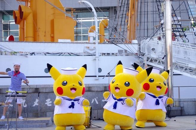 Chiêm ngưỡng lễ hội Pokemon hoành tráng ở Nhật Bản