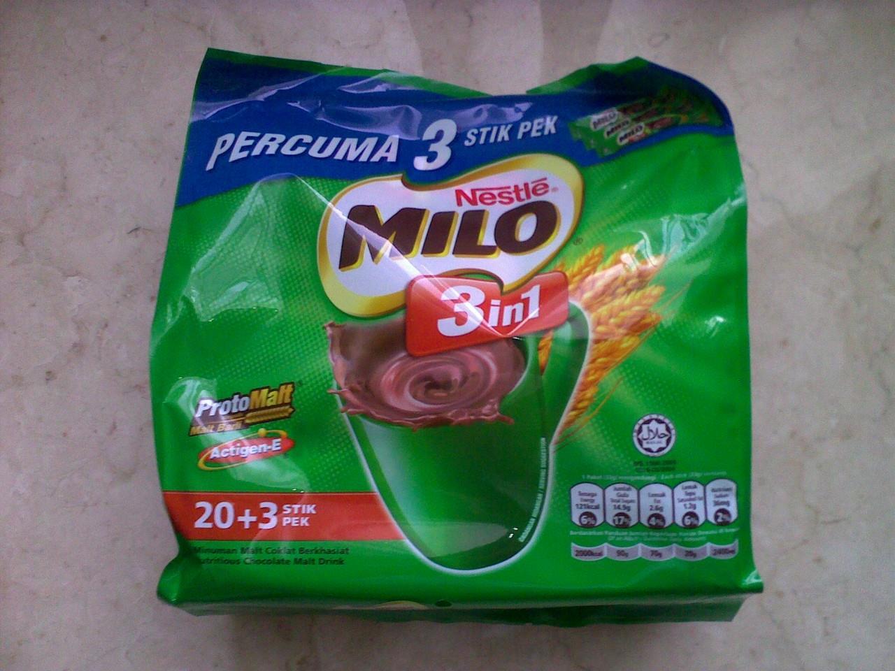 Milo là đồ uống số một