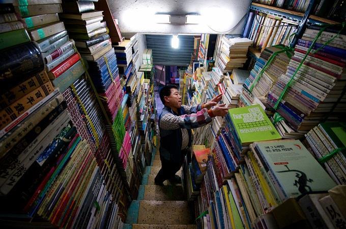 Ghé thăm phố sách cũ giữa lòng Busan