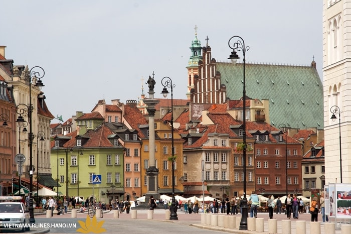 Quảng trường Old Town Warsaw