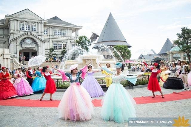 Lễ hội mùa xuân ở Bà Nà Hill, Đà Nẵng